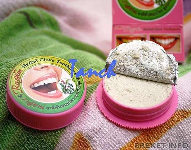 Зубной порошок отбеливающий таиланд