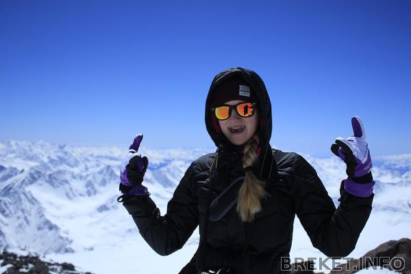 на высоте 4500м, Эльбрус 2017